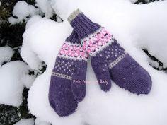 Gloves, Knitting, Winter, Fashion, Winter Time, Moda, Tricot, Fashion Styles, Breien