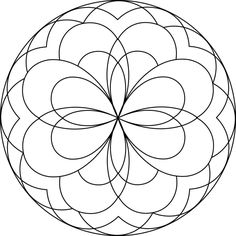 free printable mandala coloring pages for kids - Simple Mandala Coloring Pages Kid