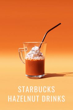 If you're a hazelnut coffee lover, this article will excite you. It extensively outlines the different kinds of hazelnut coffee drinks Starbucks offer, including their composition, taste, nutritional information, plus other essential details you should know about them. #starbucks #coffee Blended Coffee, Fresh Coffee, Fragrance Samples, Fragrance Oil, Coffee Accessories, Hazelnut Spread, Thing 1, Sugar Free Desserts, Chocolate Hazelnut