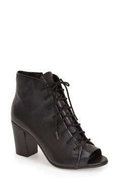 Steve Madden Steve Madden 'Neela' Lace-Up Bootie (Women) available at #Nordstrom