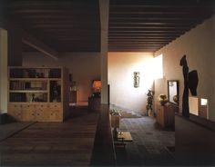La casa de Eduardo Prieto en San Ángel. Arquitecto, Luis Barragán.  @Casa de las Grandes Firmas #altavista147 #SanAngel #Mexico