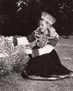 Bārta folk costume. Latvia.