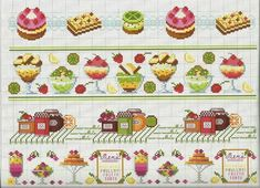 Ru / фото - frutta e verdura a punto croce - mosca Xmas Cross Stitch, Cross Stitch Kitchen, Cross Stitching, Cross Stitch Patterns, Fun Snacks For Kids, Xmas Ornaments, Fun Activities, Embroidery Stitches, Needlework