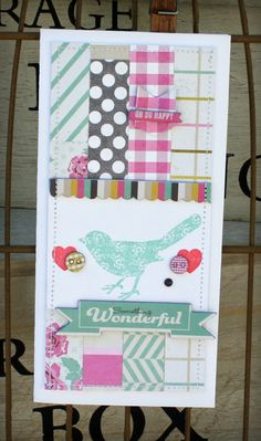 Kate & Co. Card by Danni Reid for M