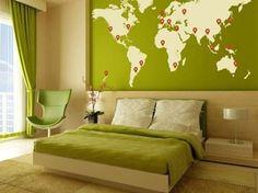 risultati immagini per pareti colorate abbinamenti camere da letto ... - Camera Da Letto Colore