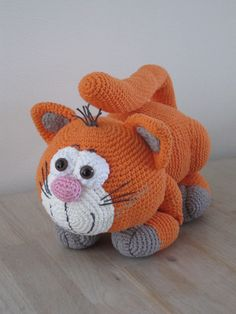Oranje Kat (patroon van Mala-design)