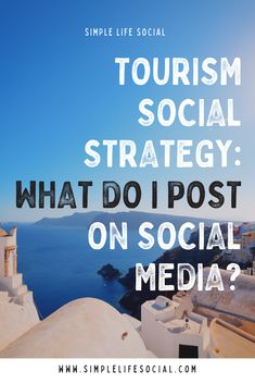 Tourism Social Strategy: What do I post on social media? To Focus, Tourism, Encouragement, Told You So, The Incredibles, Social Media, Content, Simple, Books