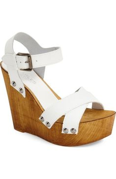 Charles by Charles David 'Munich' Platform Wedge Sandal (Women) available at #Nordstrom