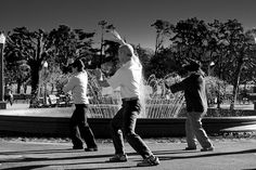 Tai chi in the Golden Gate park this morning.    The picture taken for the dailyshoot assignment #498: Make a black and white photograph and go monochrome today.    Day 87/365 28/3/2011     here at the premiere Fredericksburg martial arts school at http://www.shaolinkungfucenter.com