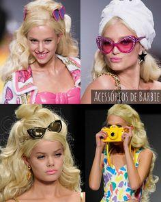 Barbie tá moda…