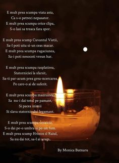 Candle Jars, Verses