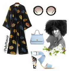 """Forte beleza"" by maustyle on Polyvore featuring Fendi, Miu Miu and Dolce&Gabbana"
