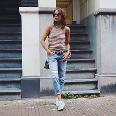 Lizzy van der Ligt is walking with Colombia. #SYOUandColombia #Amsterdam #MadeinColombia #Sneakers #WalkWithUs @lizzyvdligt