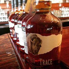 Buffalo Trace Bourbon at Buffalo Trace Distillery Rye Whiskey, Cigars And Whiskey, Bourbon Whiskey, Whisky, Whiskey Bottle, Buffalo Trace, Pipes And Cigars, Ohio River, Barrels