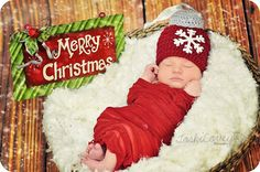 christmas hat ornament hat baby boy hat baby girl by ThingyThingz