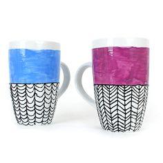 Decorating porcelain cups / Décoration de tasses en porcelaine | DeSerres