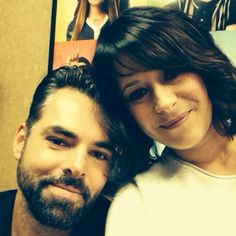 Jason Thompson and Kimberly McCullough