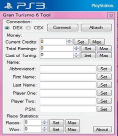 Gran Turismo 6 Hack Tool and Cheats Engine Free Download