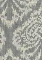 Ikat Damask Pewter Multi-Purpose Fabric by Robert Allen $23.95