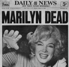 Marilyn Monroe was found dead in the bedroom of her Brentwood home by her psychiatrist Ralph Greenson after he was called by Monroe's housekeeper Eunice Murray on August 5, 1962. She was 36 years old at the time of her death.
