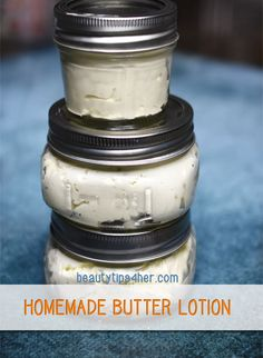 I love the consistency of this homemade lotion as it leaves a thin layer of oil when applied to the skin without giving you that greasy feeling. After making my own batches, there's no turning back using the store-bought synthetic junk again.