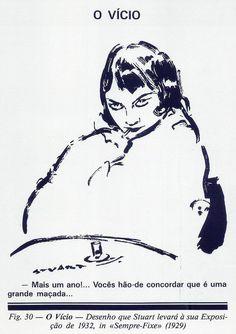 Stuart de Carvalhais, O Vício, Sempre-Fixe, 1929