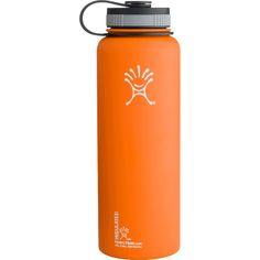 Hydro Flask 40oz. Wide Mouth Water BottleOrange Zest