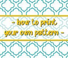 The {colored} Married Life: Print your own Pattern - instead of shelf liner Printable Labels, Printable Art, Free Printables, Married Life, Getting Organized, Stencils, Diy Crafts, Crafty, Organizing Drawers