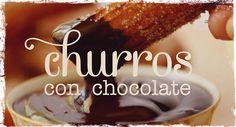 Be Bloggera: Video Receta: CHURROS con chocolate