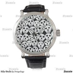 Shop Zazzle's selection of customizable Funny watches & choose your favorite design from our thousands of spectacular options. Funny Watch, Love Heart, Watches, Skulls, Gifts, Hearts, Accessories, Shopping, Diy