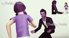 My Sims 3 Poses: Hold Me Daddy pose pack by Berry Sweet