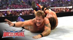 AJ STYLE VS CHRIS JERICHO WWE WRESTLEMANIA 19 AUGUST 2016