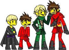 ninjago fan art - Kai+Lloyd