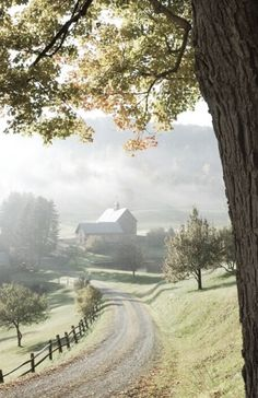 there is a farm down some old dirt road that waits for me -it is my magical destined to be someday farm