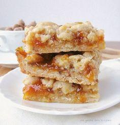 apricot coconut bars | une gamine dans la cuisine
