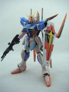MG 1/100 ZGMF-X56S/α Force Impulse Gundam: Beautiful! Custom Work. Painted Build. Full Photoreview No.27 FULL Size Images! | GUNJAP