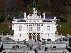 Bavarian King Ludwig II built Linderhof Castle southwest of Munich in the 1870's.