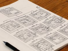 Sketchbook Wireframes