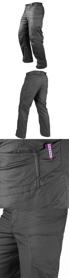Clothing and Protective Gear 159044: Condor #610T-002 Tactical Hunting Stealth Operator Pants Ripstop 36Wx32l Black -> BUY IT NOW ONLY: $38.99 on eBay!