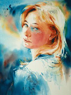 Maryse de May Une aquarelliste de l'intime Une - Belles boîtes & Beaux Papiers