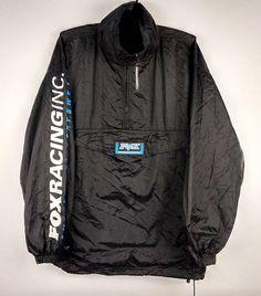 Items similar to Vintage Fox Racing Zip Windbreaker Jacket Large on Etsy Vintage Fox, Vintage Sport, Fox Racing, Windbreaker Jacket, Adidas Jacket, Zip, Trending Outfits, Unique, Sports