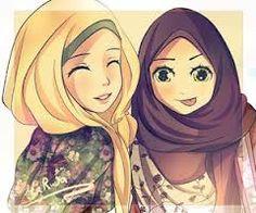 Image result for muslimah cartoon