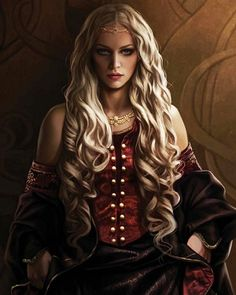 Rhaenyra Targaryen from The World of Ice and Fire.
