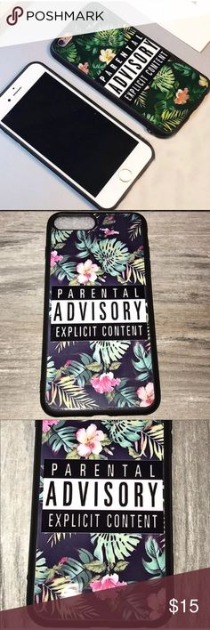 I just added this listing on Poshmark: iPhone 7 Plus Parental Advisory Explicit Content. #shopmycloset #poshmark #fashion #shopping #style #forsale #Boutique #Accessories