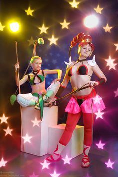 Sailor Moon: JunJun and VesVes   by gorlitsa @ DeviantART.com // #cosplay #sailormoon
