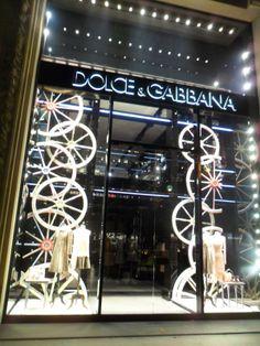 dolce&gabbana, paris, photo by escaparates famosos