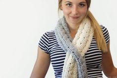 CROCHET PATTERN - Cabled Keyhole Scarf - Instant Download (PDF) Crochet Cable, Crochet Hooks, Front Post Double Crochet, Cascade Yarn, Slip Stitch, Cute Designs, Free Pattern, Crochet Patterns, Pdf