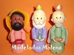 Modelados Malena Porcelana Fria: PESEBRE 2010 ♥