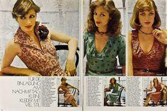 Handarbeiten Schnitt-Sonderheft F/S 1975 in Libros, revistas y cómics, Revistas…