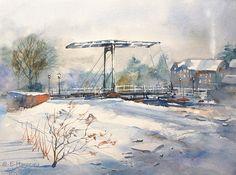 Edo Hannema Watercolorart